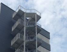 Fluchttreppe | Bürogebäude