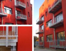 Balkonanlage | Altbausanierung