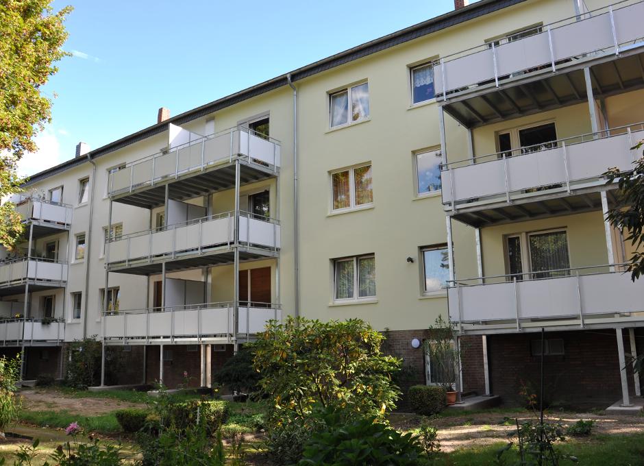 Aufgeständerte Balkone